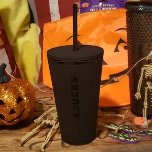 Starbucks Dining - Starbucks flat black & autumn studded tumbler